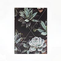 Скетчбук Kraftsketchbook «Nature succulent» 128 стр.