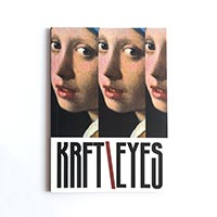 Скетчбук Kraftsketchbook «Krft eyes Vermeer»