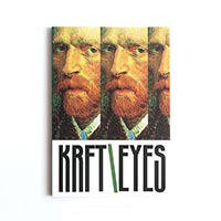Скетчбук Kraftsketchbook «Krft eyes Vincent»